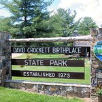 David Crockett Birthplace State Park resmi