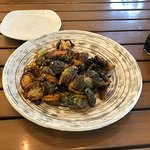 Brussels Sprout appetizer