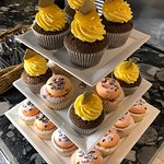Cupcakes made daily on site by the Pastry Team.