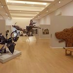 Modern art section