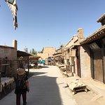 Duhuang Ancient City Ruins Foto