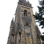 The tower of Llandaff Cathedral Cardiff