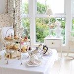 Afternoon tea in The Garden Room