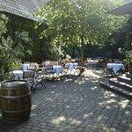 Kastanienhof im Sommer