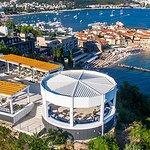 Restaurant Vista Vidikovac has a unique view, the most beautiful on the Montenegrin coast.