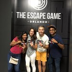 We escaped!