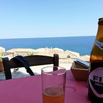 Enjoy the sun, the view and the beer