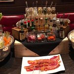 Make your own Bloody Mary at the best Sunday Brunch in town!