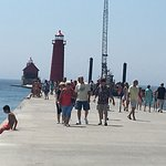 Grand Haven Lighthouse and Pier Foto