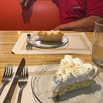 Best coconut cream pie ever! The pasties are excellent too. Love this little cafe. You will too.