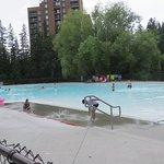 Excellent wading pool and splash park