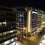 Upper view in Syntagma square.