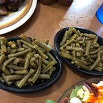 A double order of green beans!