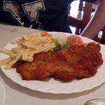 Pechuga empanada de pollo