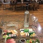 my usual take out sushi & sashimi