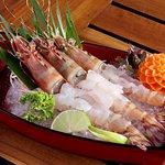 Tiger prawn Sashimi - The best way to have tiger prawn