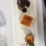 Simple but flavoursome Trio De Desserts