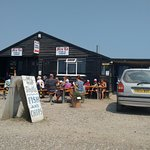 Great fish and chips near the Harbour