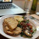 sardine with sourdough bread