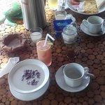 Breakfast in the room terrace