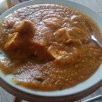 This was supposed to be a chicken Bhuna, not vegetable soup.