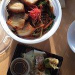 Bulgolgi Rice Bowl and Buddha Mix Dumplings!