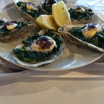 order the oysters Rockefeller, Classic and delicious
