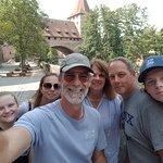 #NurembergToursinEnglish with #HappyTourCustomers at the Kettenbrücke