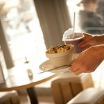Yellowave Beach Sports Venue - Cafe  - smoothies and granola bowl