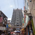 Street view of the temple.