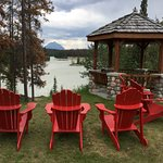 Relax and watch the Athabasca River go by.