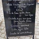 Le menu du 27.07.18