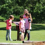Exploring the Presidio (fort) site