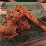 Tempura de camarão
