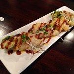 tempura salmon appetizer