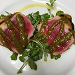 Special: Seared tuna with chimichurri and island-grown watercress