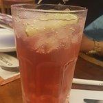 ice de fruta vermelha