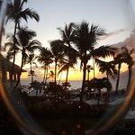 Sunset at Four Season Maui.