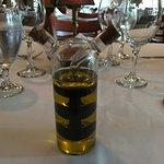 Unique oil and vinegar spiral cruet