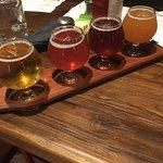 The beer flight