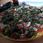 pizza szpinakowa - na życzenie - bez sera