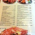 Filipino selection on the menu