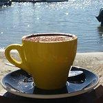 Italian 73% dark hot chocolate...gluten free too