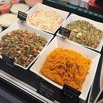 Salades au poids
