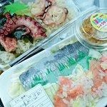 タコ飯と飯鮨とホタテマヨと