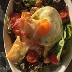 Salade chèvre, poulet