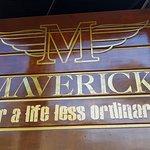 Placa do Maverick
