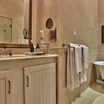 The Von Veh Bathroom - Shower and separate bath
