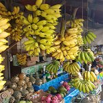 Fruit market with best mango in the world!