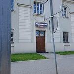 Wejście do lokalu od strony ul. Wojskowej